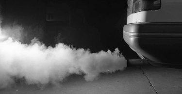 fumées dans le garage
